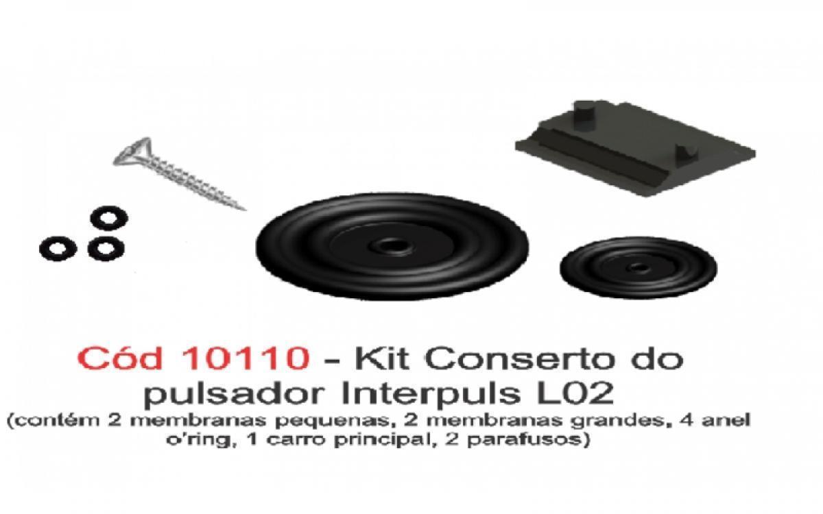 KIT CONSERTO DO PULSADOR L02 INTERPULS