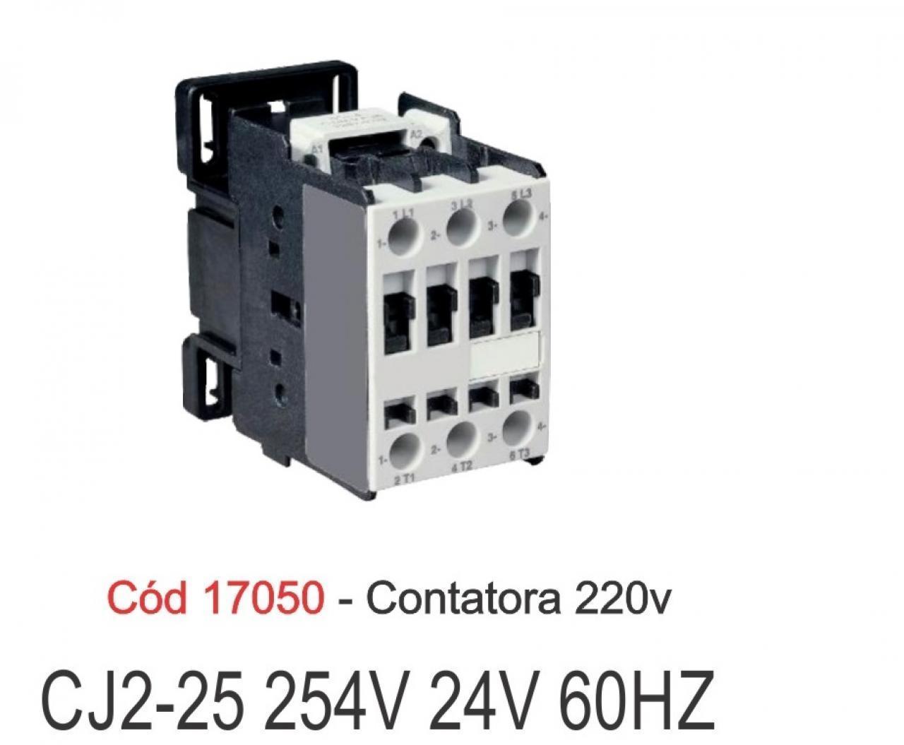 CONTATORA CW07.10 220V 2V  (WEG)