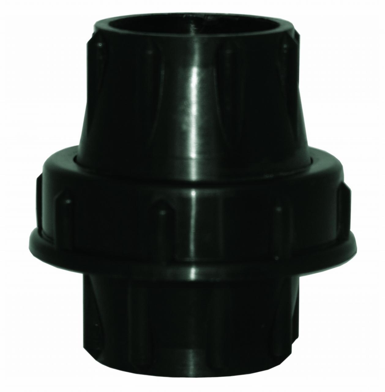 UNIAO EM PLASTICO PARA TUBO DE 38MM (C/BORRACHA)