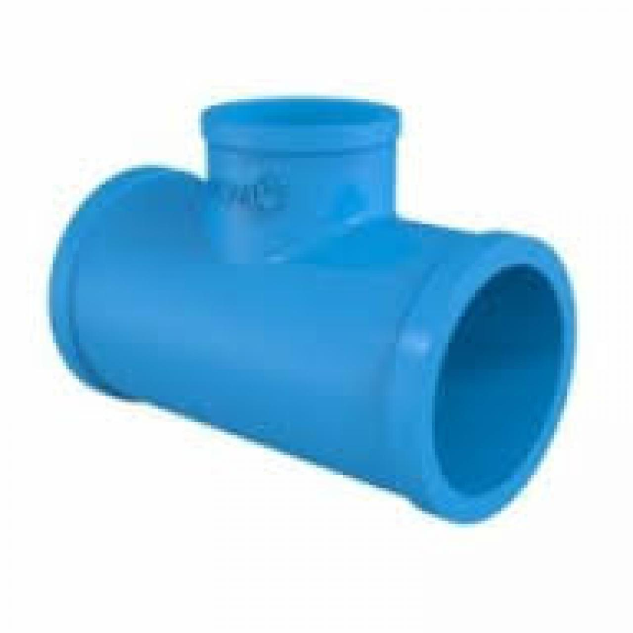TEE PVC 50MM SOLDAVEL