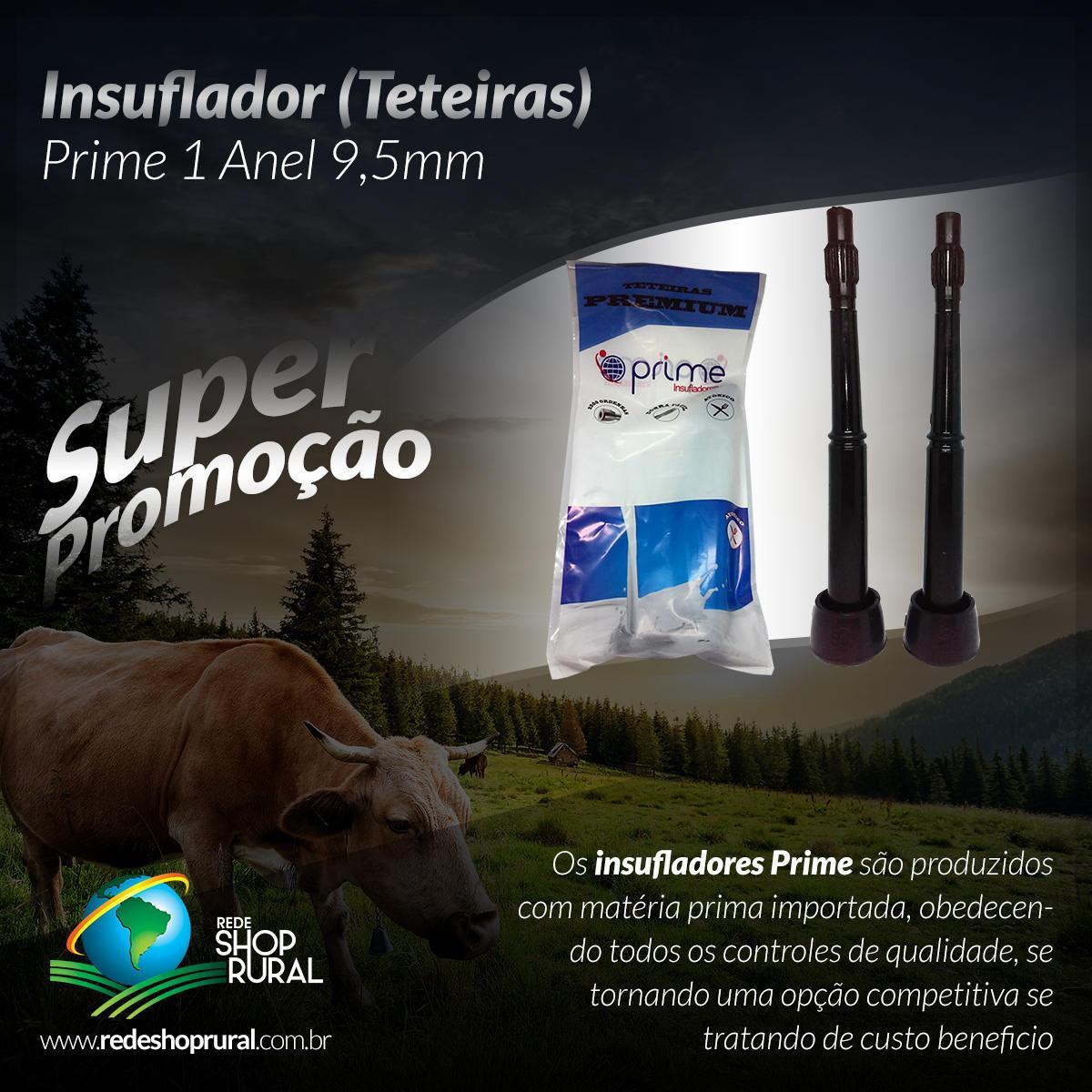 Insuflador (Teteiras) Prime 1 Anel 9,5mm