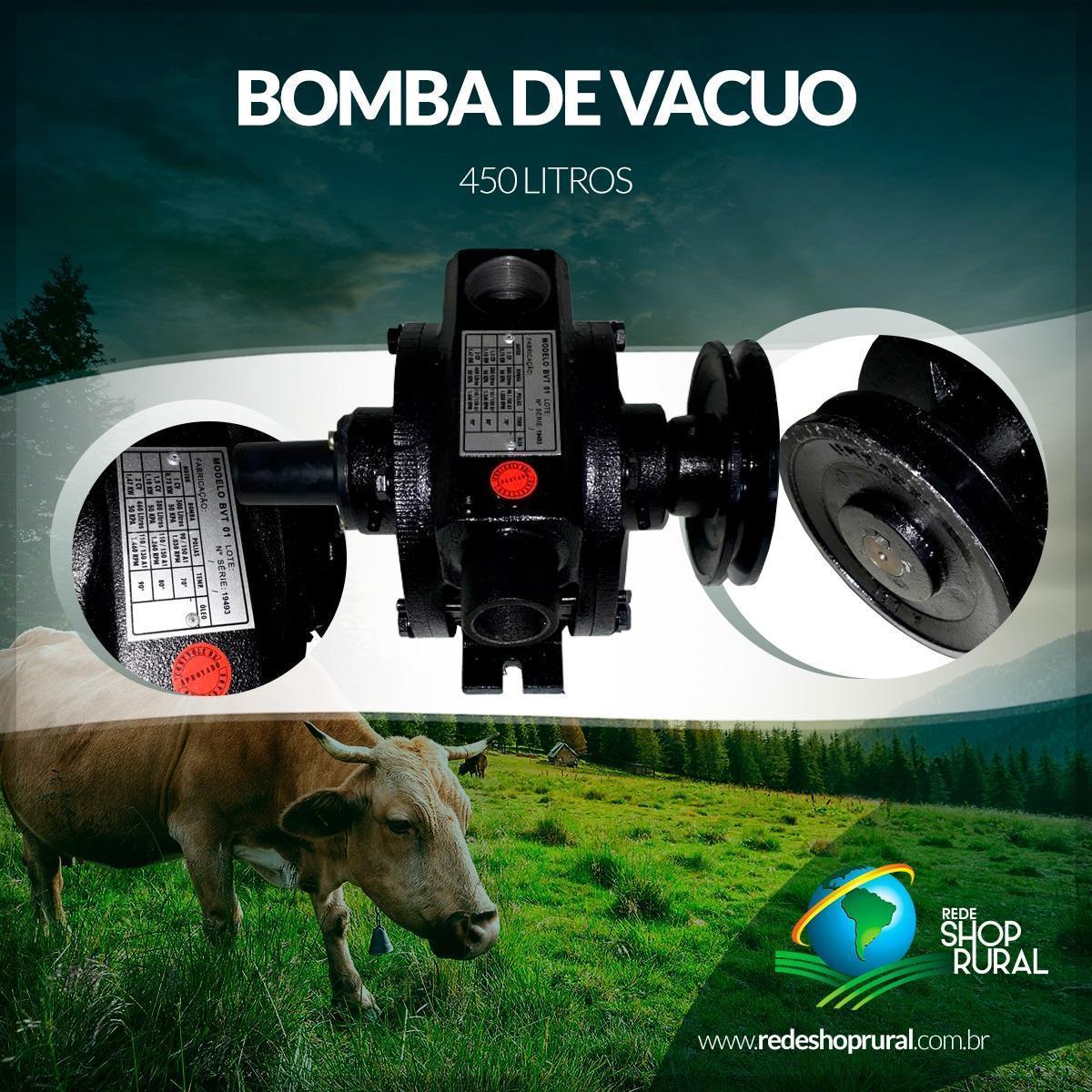 Bomba De Vacuo 450 Litros