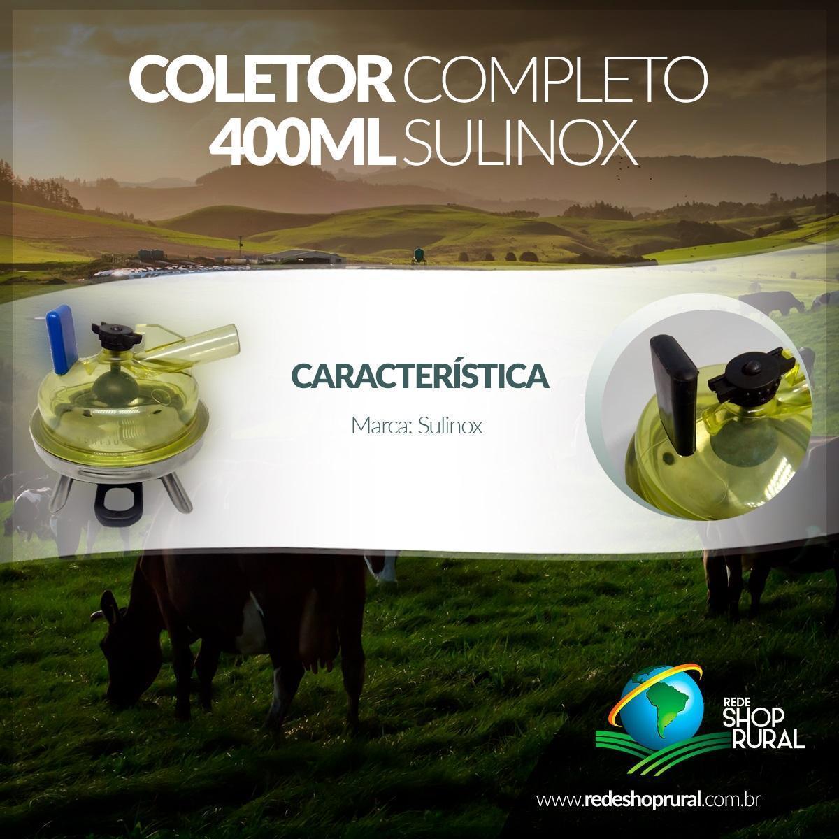 Coletor Completo 400 ML Sulinox