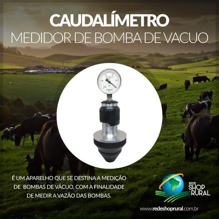 Caudalímetro: Medidor De Bomba De Vacuo