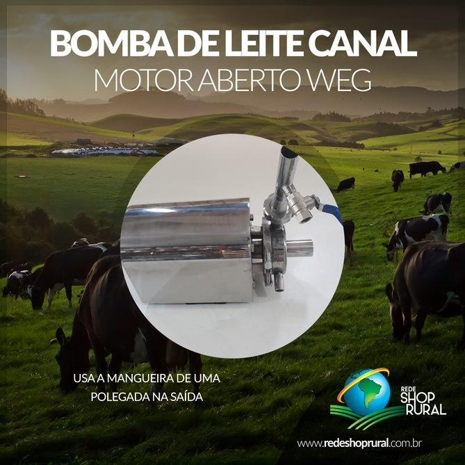 Bomba De Leite Canal/Transf Motor Aberto Weg