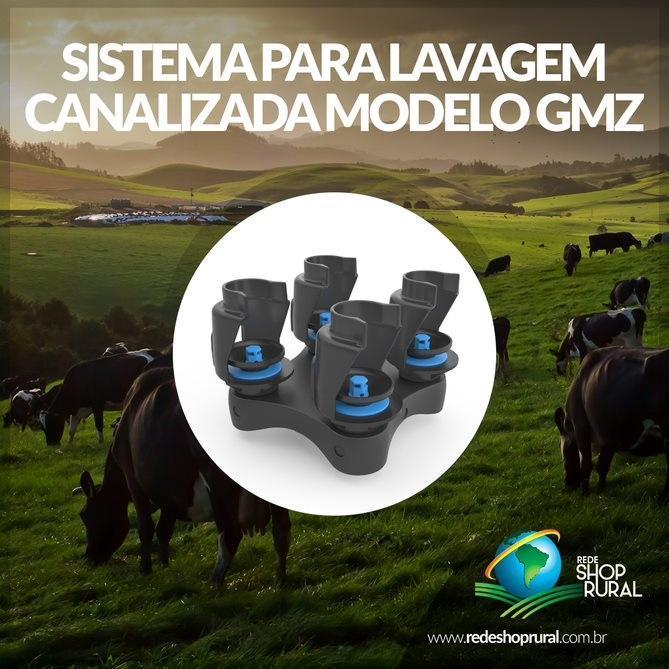 Sistema De Lavagem P/ Canalizada Modelo Gmz
