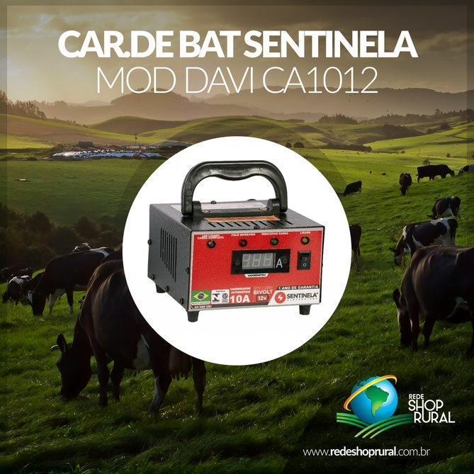 Car.De Bat Sentinela Mod Davi Ca1012