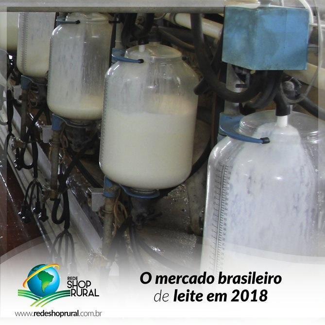 O mercado brasileiro de leite em 2018