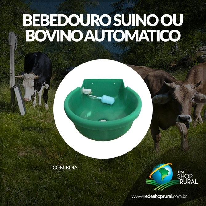 Bebedouro Suíno Ou Bovino Automático (C/ Boia)