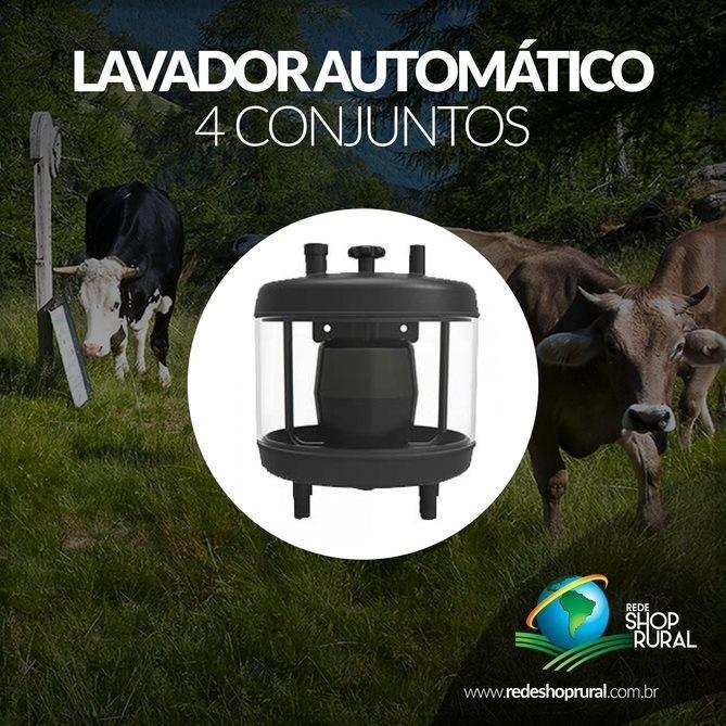 Lavador Automatico 4 Conjuntos