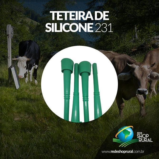 Teteira Silicone 231