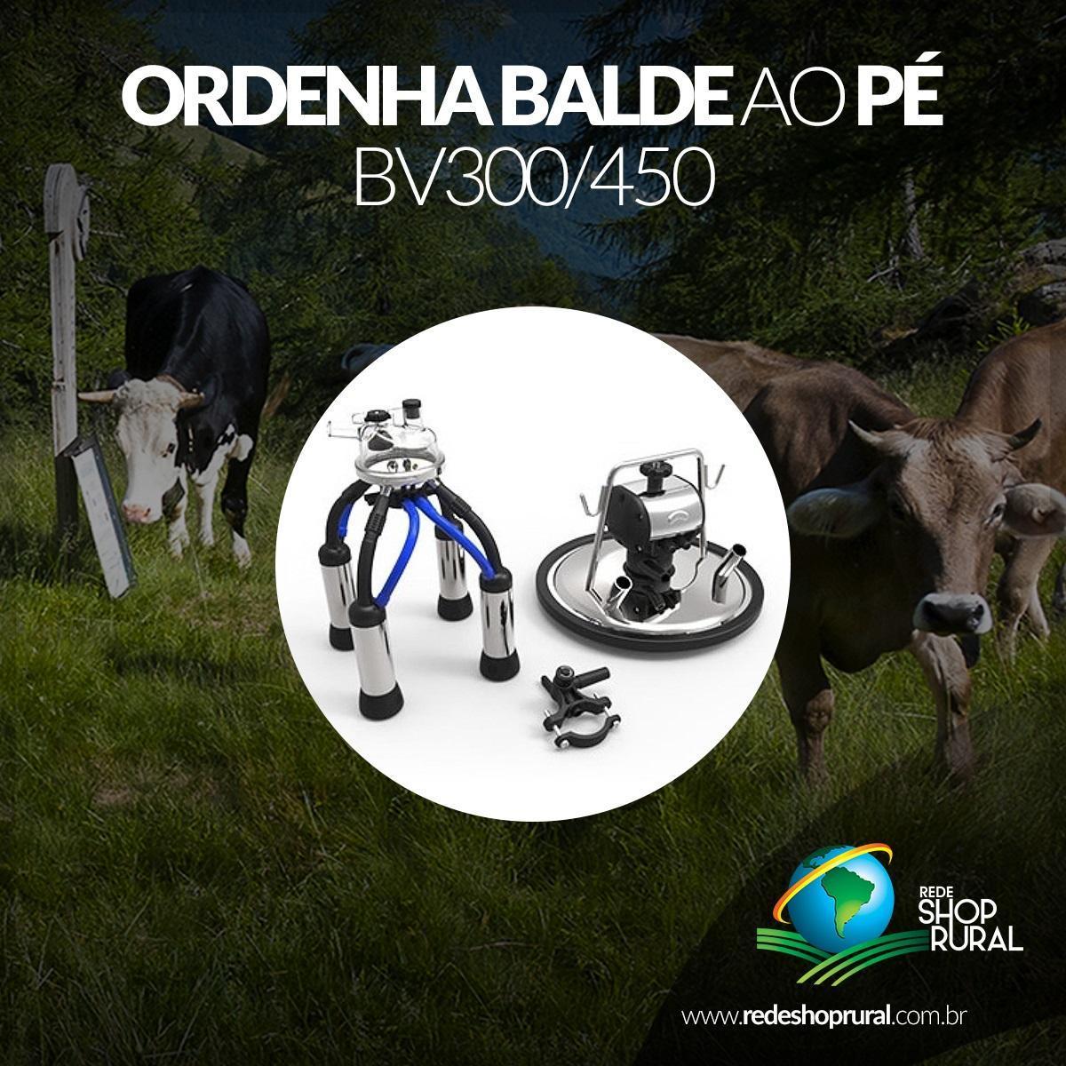 Ordenha Balde Ao Pé Bv300/450