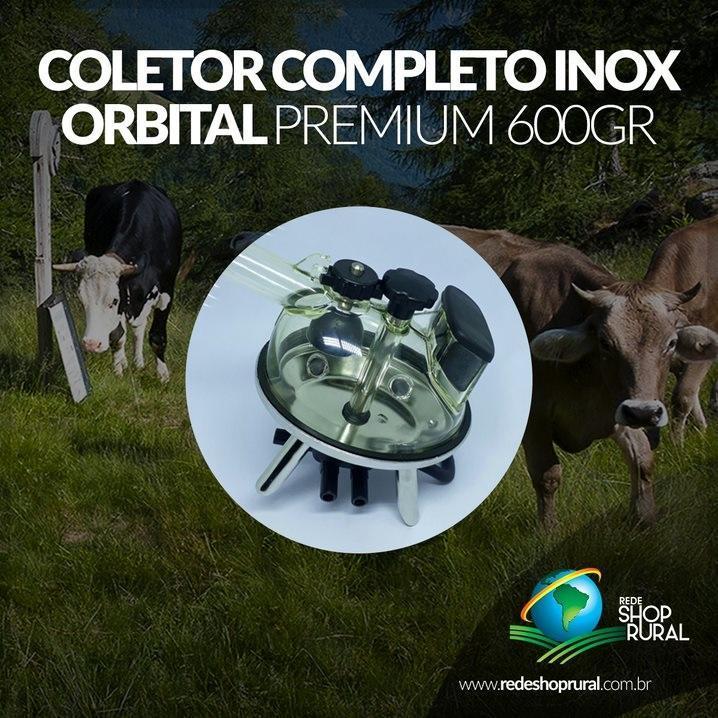 Coletor Completo Inox Orbital Premium 600gr