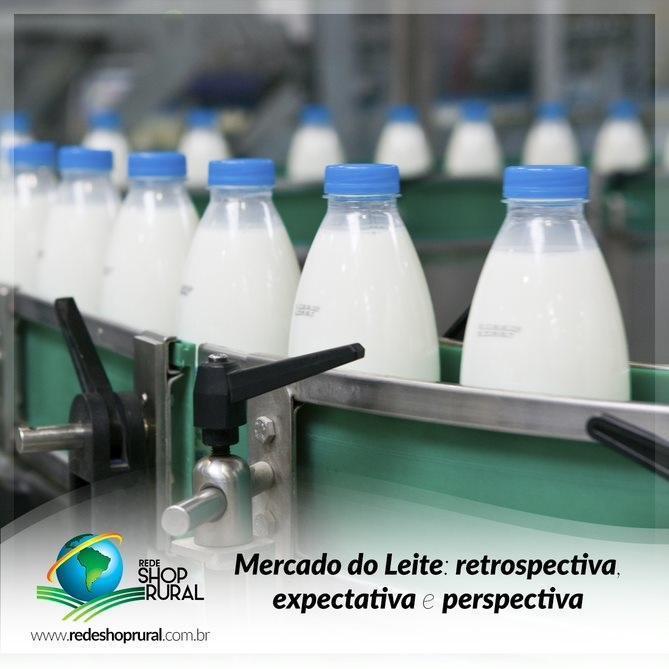 Mercado do Leite: retrospectiva, expectativa e perspectiva