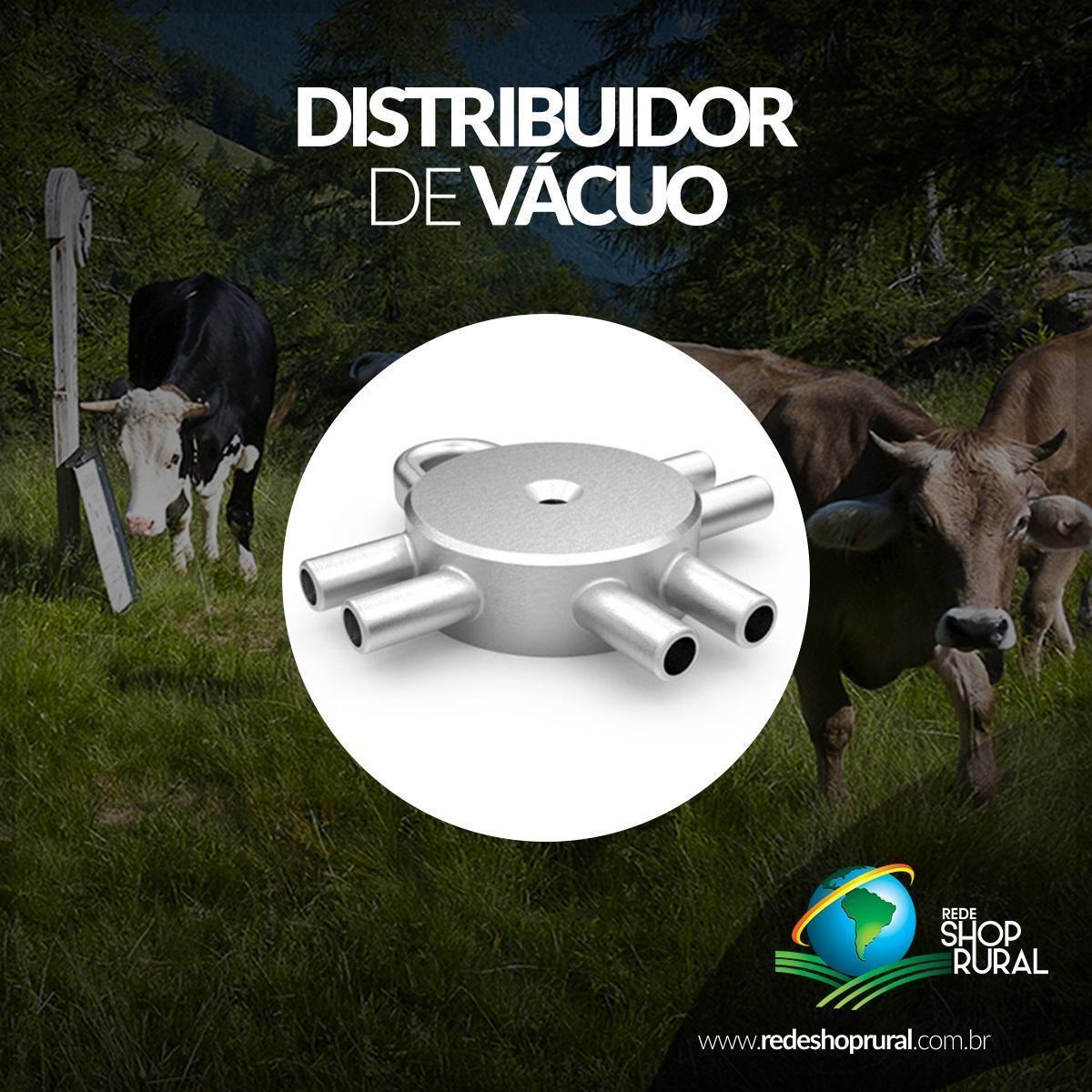 Distribuidor De Vácuo 2x2 Inox 500gr (Sextavado)