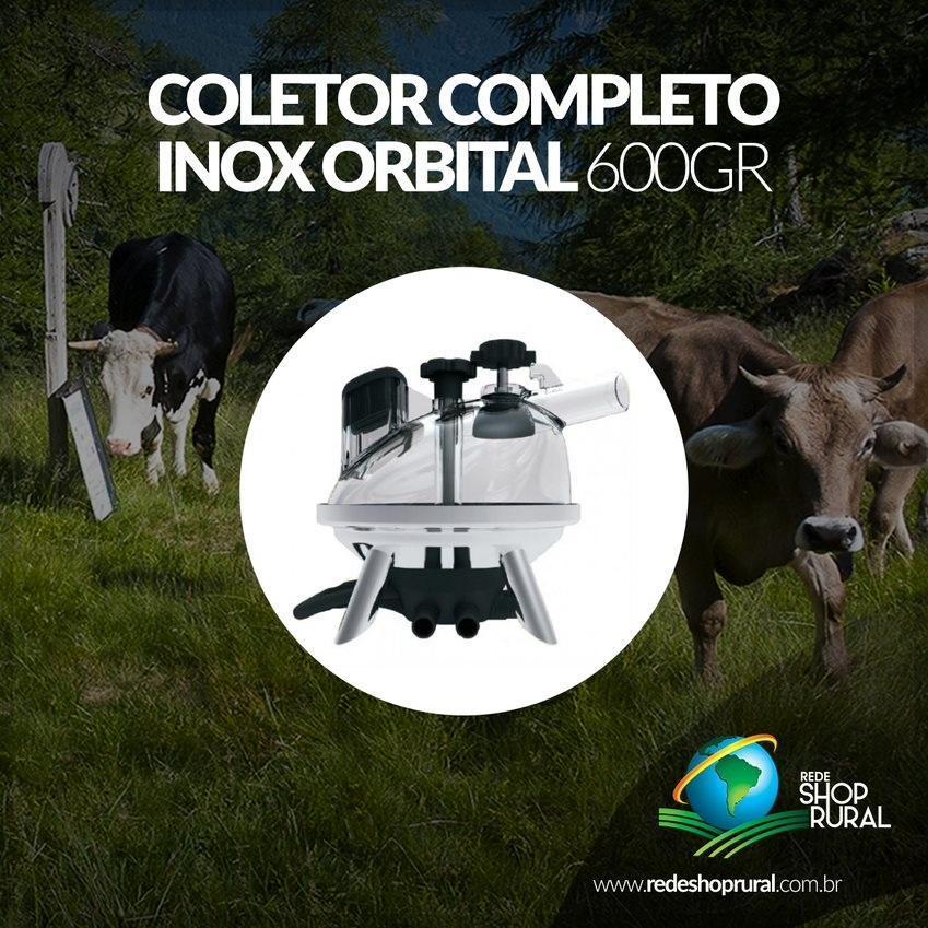 Coletor Completo Inox Orbital 600gr