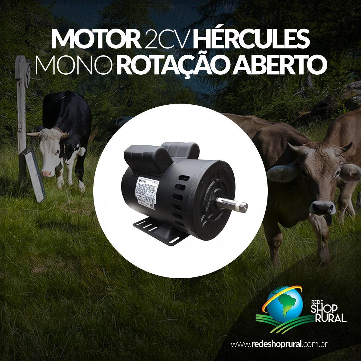 Motor 2cv Hércules Mono Bx Rotação Aberto