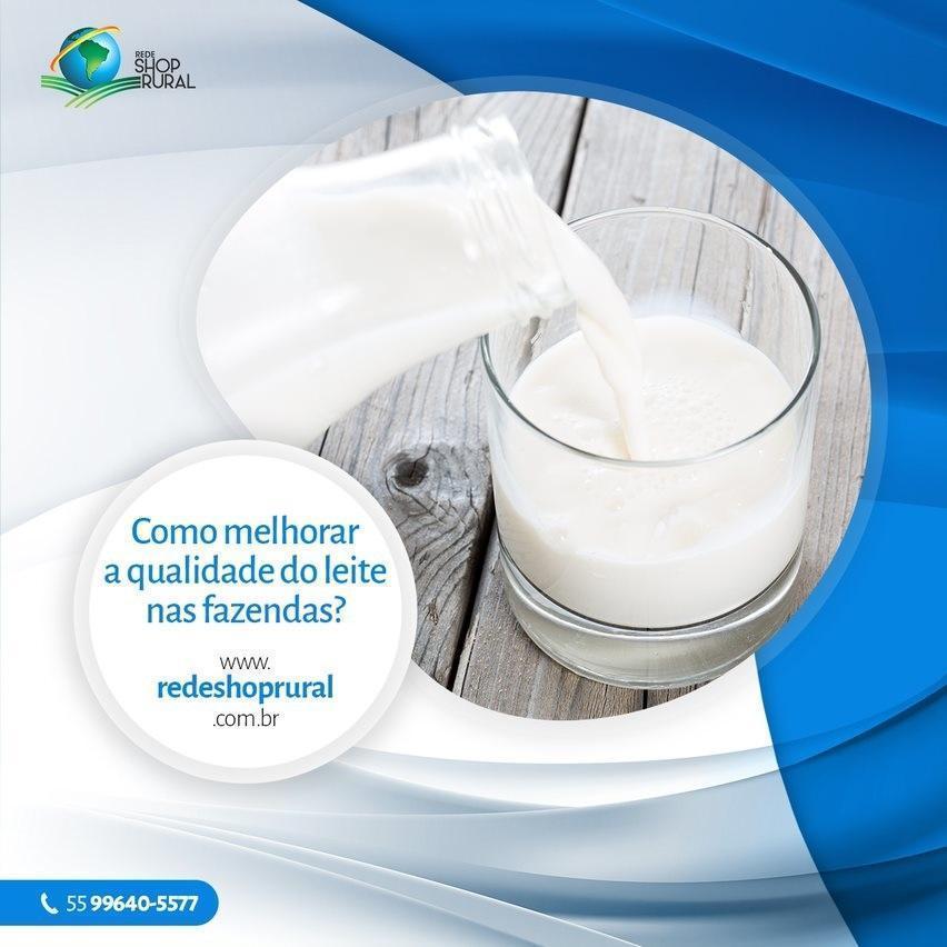 Como melhorar a qualidade do leite nas fazendas?