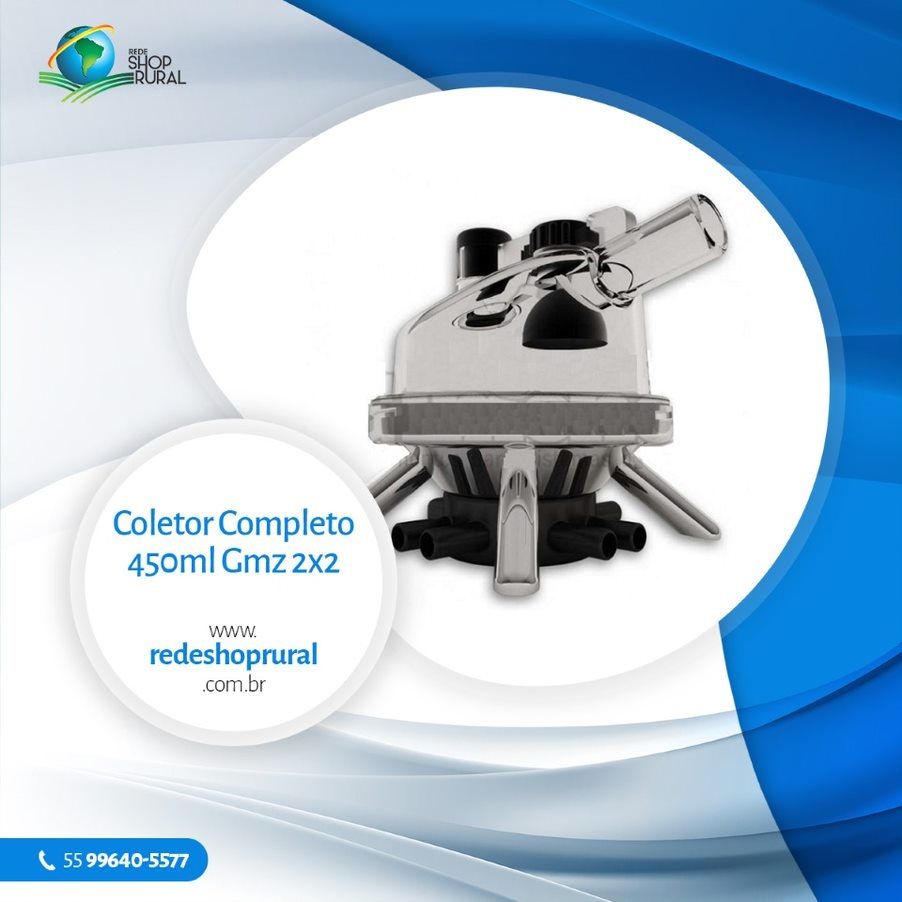 Coletor Completo 450ml Gmz 2x2