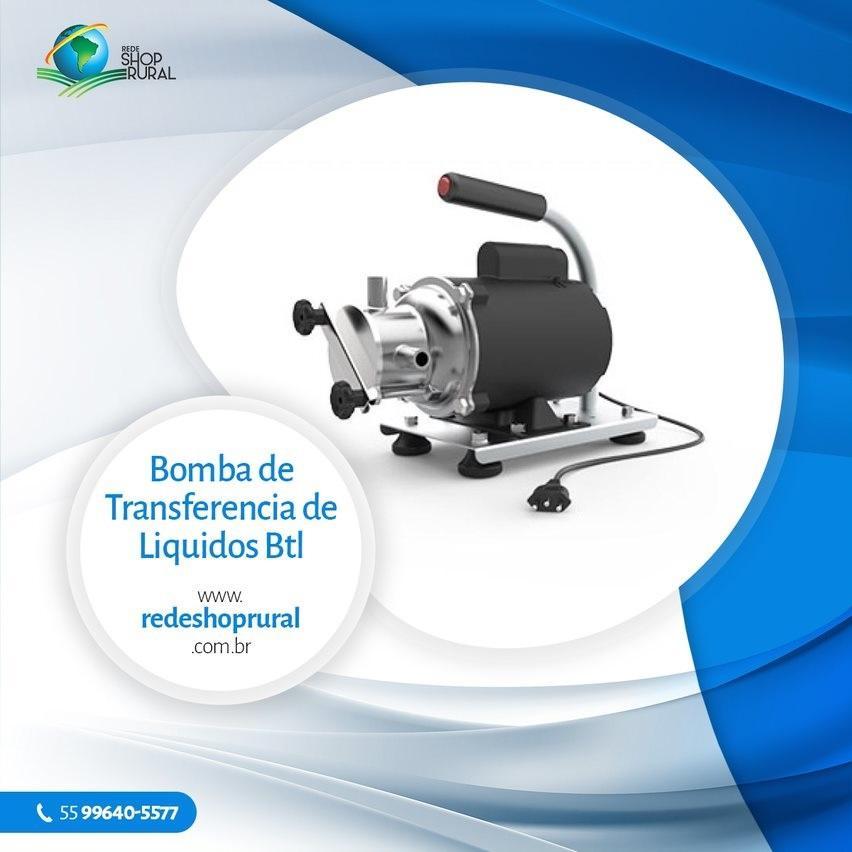 bomba de transferência de líquidos BTL