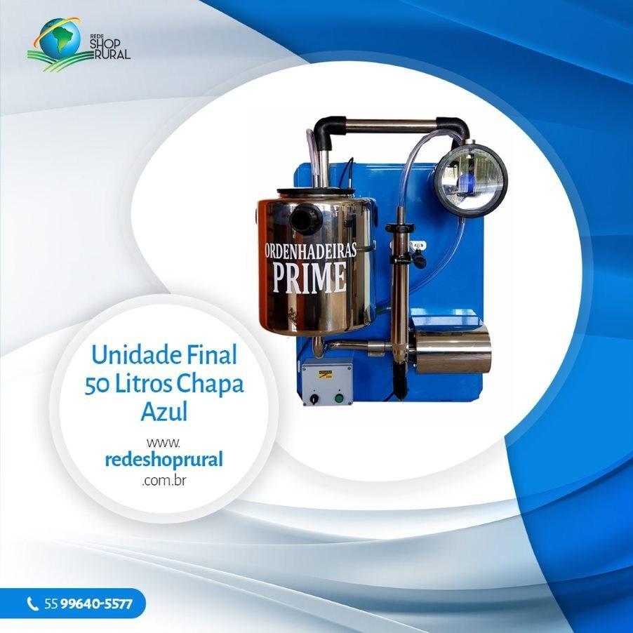 Unidade Final 50 Litros Chapa Azul