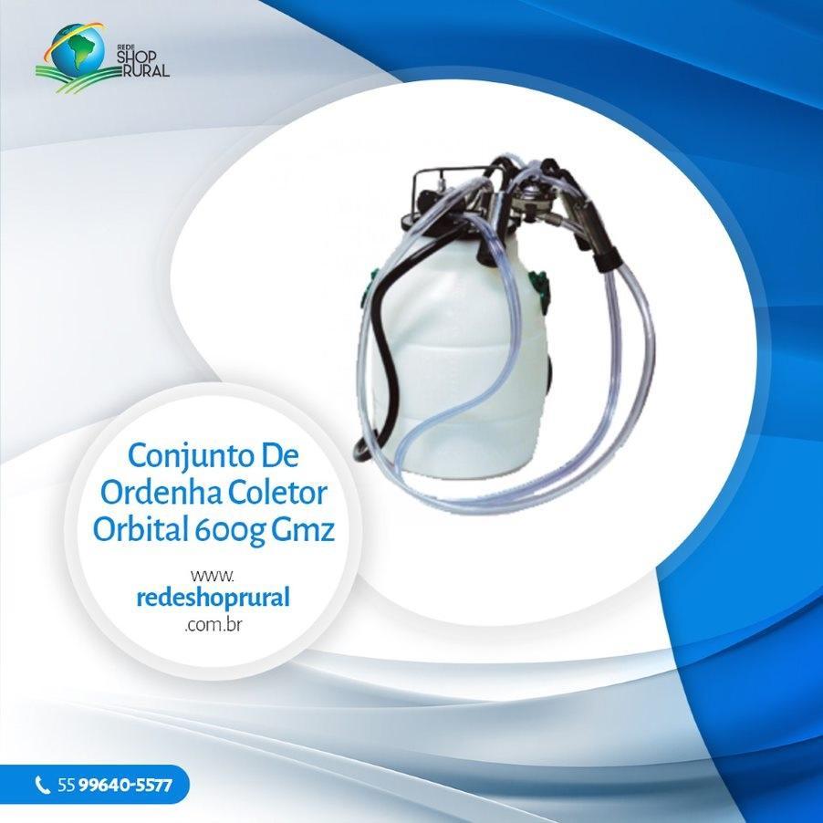 Conjunto De Ordenha Coletor Orbital 600g Gmz