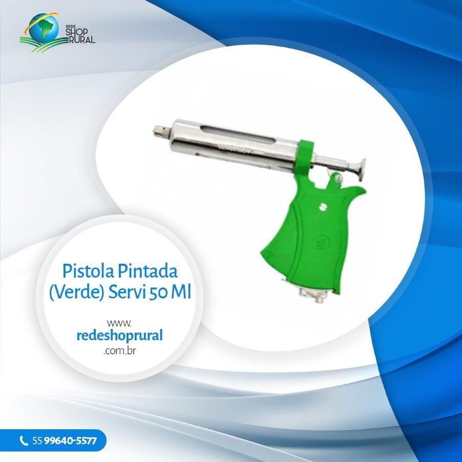 Pistola Pintada (Verde) Servi 50 Ml Aut.
