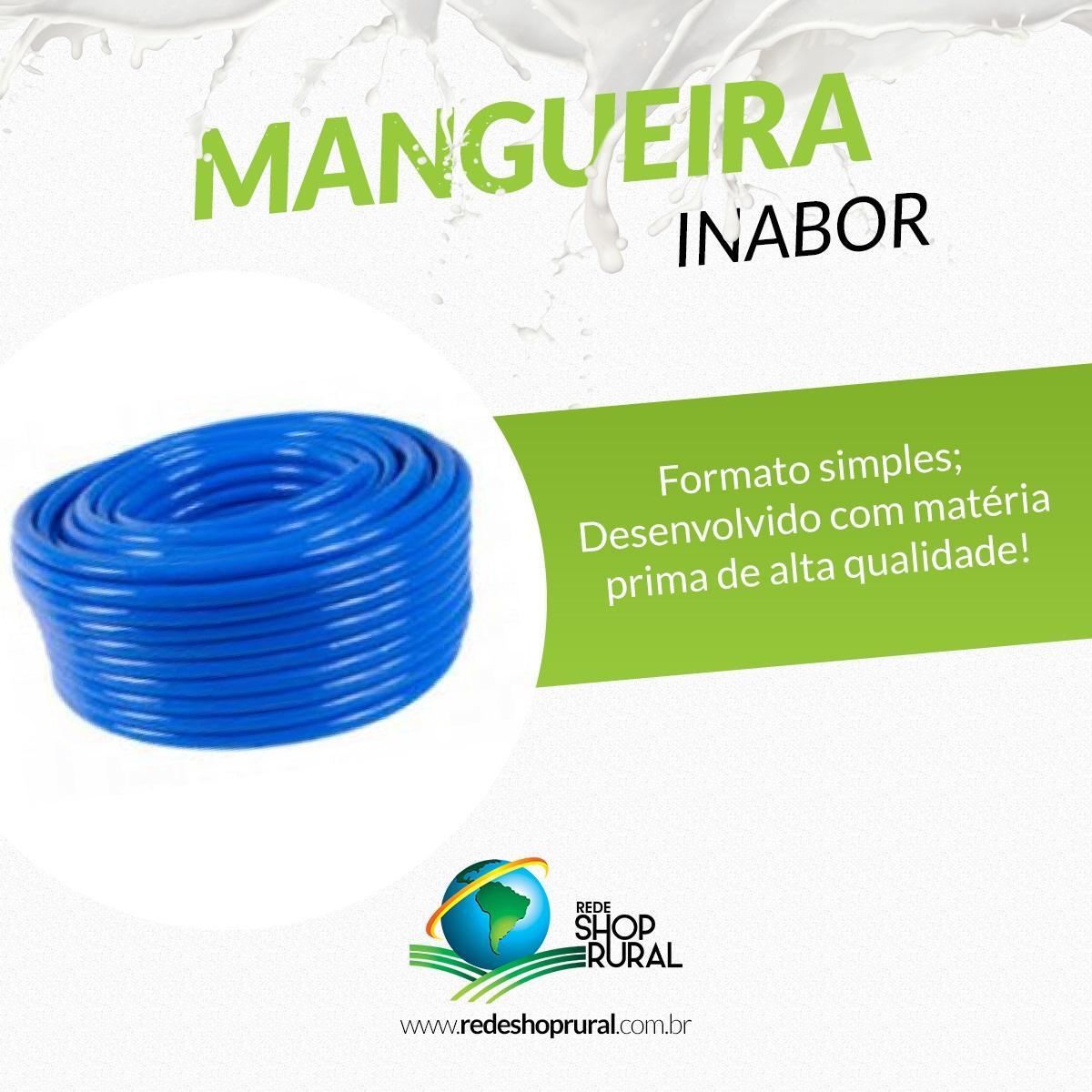 Mangueira Grossa Azul Vácuo Inabor