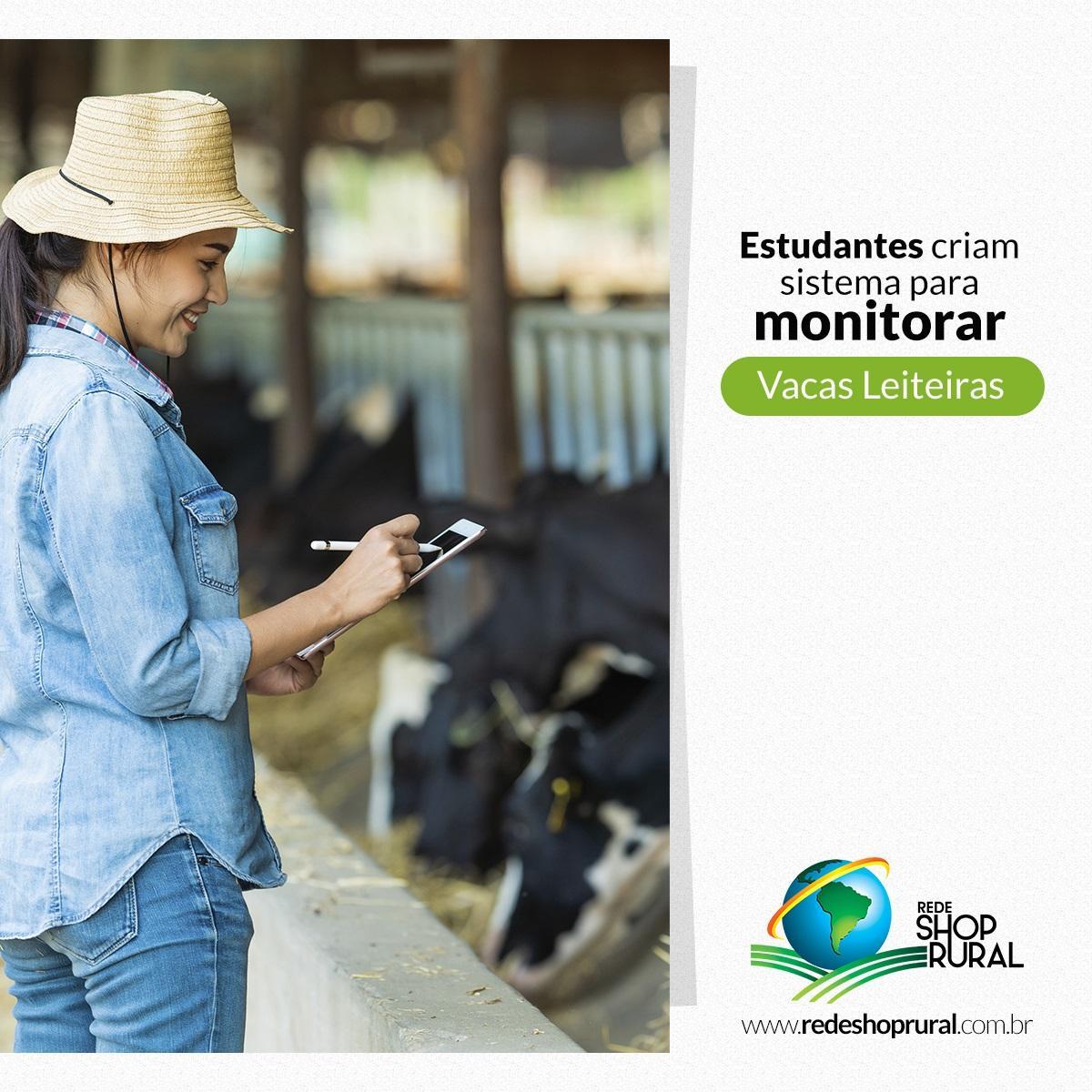 Estudantes criam sistema para monitorar vacas leiteiras
