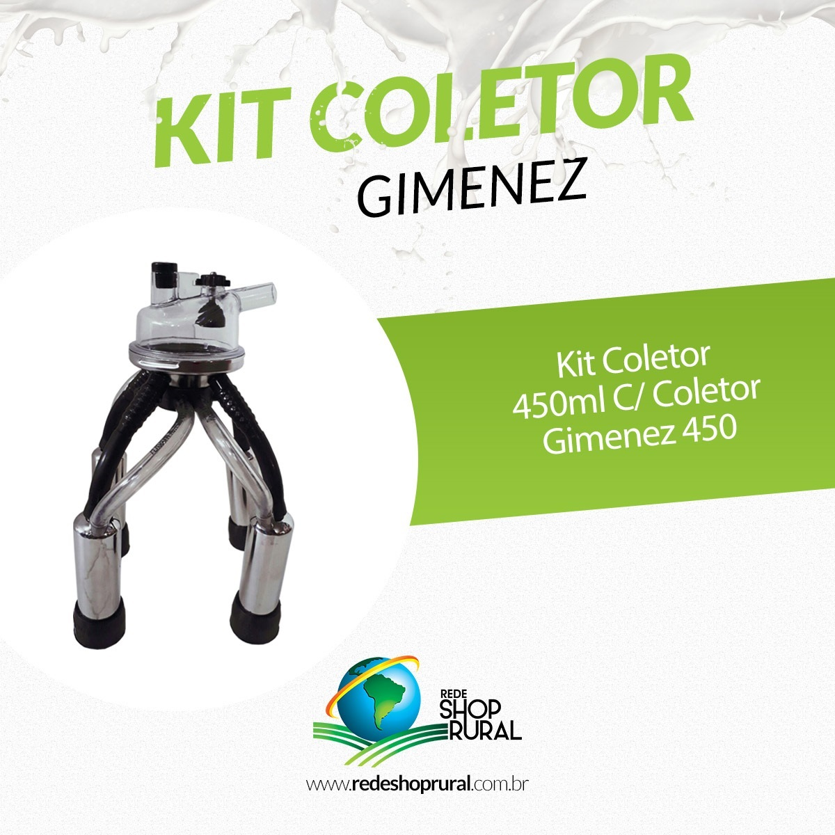Kit Coletor Gimenez