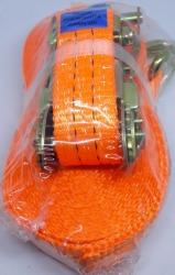 KIT CINTA/CATRACA FORCEM L:3,5CM/C:9MTS/2T LARANJA