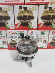 COLETOR COMPLETO EUROLATTE 12MM 350ML INOX