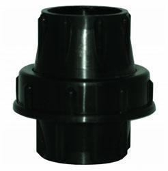 UNIAO EM PLASTICO PARA TUBO DE 50MM (C/BORRACHA)