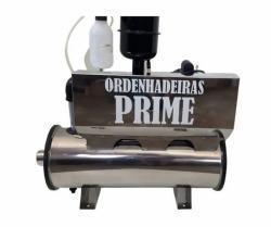 ORDENHADEIRA INOX PRIME BV 300, MOTOR 2CV,  2 CONJUNTOS DE ORDENHA