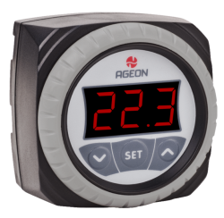 CONTROLADOR DIGITAL AGEON H104M (REDONDO)