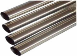 TUBO DE INOX 304 75MM P1.5MM POLID INT/EXT (BARRA 6MTS)